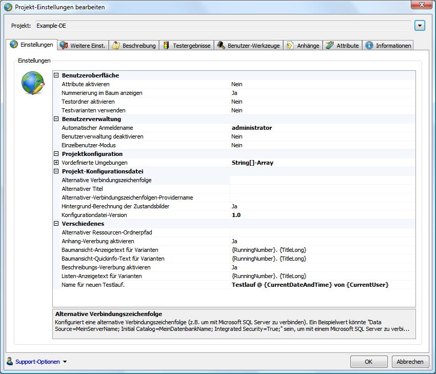 testplan vorlage – Test Management Software